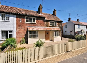 Thumbnail 3 bed cottage for sale in Chapel Road, Pott Row, King's Lynn