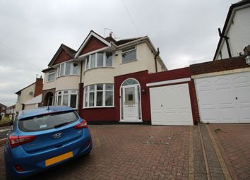 Thumbnail 3 bed semi-detached house to rent in Hilderic Crescent, Dudley