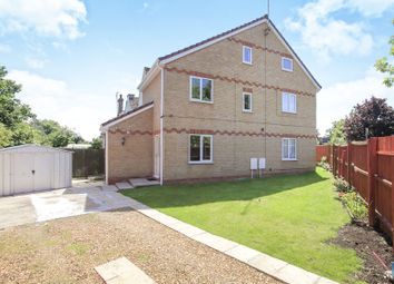 Thumbnail 4 bed detached house for sale in Belsize Avenue, Woodston, Peterborough