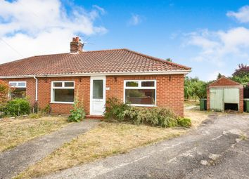 Thumbnail 2 bed semi-detached bungalow for sale in Mountfield Avenue, Hellesdon, Norwich