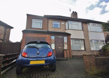 Thumbnail 4 bed semi-detached house for sale in Christopher Way, Childwall, Liverpool