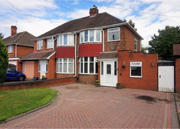 Thumbnail 4 bedroom semi-detached house for sale in Wyckham Road, Birmingham