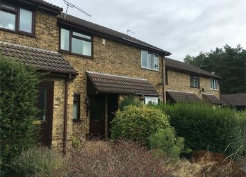 Thumbnail 2 bed terraced house to rent in Chaffinch Close, Creekmoor, Poole