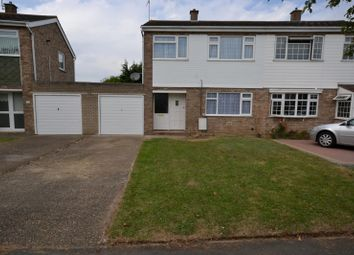 Thumbnail 3 bedroom semi-detached house to rent in Flatford Drive, Clacton-On-Sea