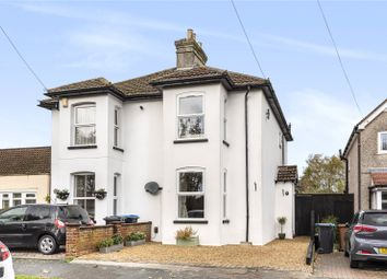 Thumbnail 3 bed semi-detached house for sale in Avenue Road, Caterham, Surrey