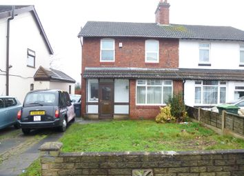 Thumbnail 3 bed semi-detached house for sale in Hall Road, Bearwood, Smethwick