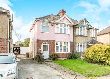 Thumbnail 3 bedroom semi-detached house for sale in Brookfield Road, Ipswich