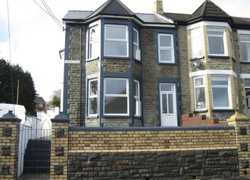 Thumbnail 4 bed end terrace house for sale in Park Crescent, Bargoed