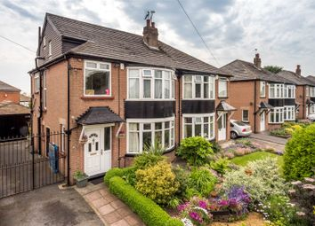Thumbnail 4 bed semi-detached house for sale in Shadwell Walk, Leeds, West Yorkshire