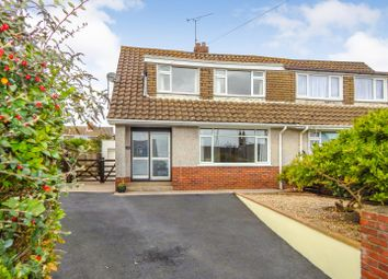 Thumbnail 3 bedroom semi-detached house for sale in Pennard Road, Kittle, Swansea