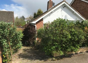 Thumbnail 2 bedroom detached bungalow for sale in Tysoe Hill, Glenfield, Leicester