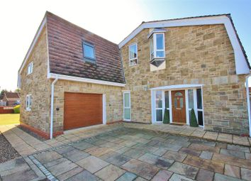 Thumbnail 4 bed detached house for sale in Hut Green, Eggborough, Goole