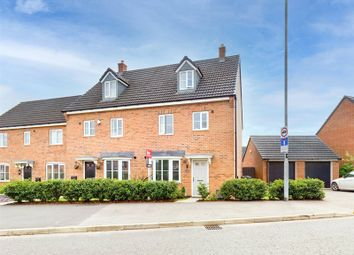 Thumbnail 4 bed semi-detached house for sale in Amber Way, Burbage