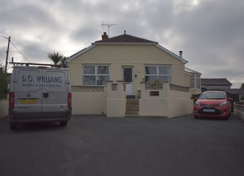 Thumbnail 4 bed detached bungalow for sale in The Ridgeway, Tenby
