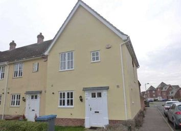 Thumbnail 3 bed end terrace house to rent in Curtis Way, Kesgrave, Ipswich