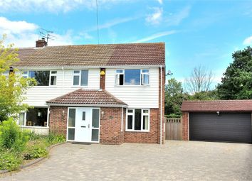 Thumbnail 4 bed semi-detached house for sale in Felsted, Dunmow, Essex