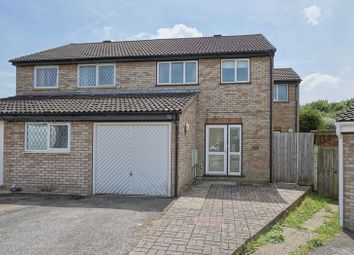 Thumbnail 3 bed semi-detached house for sale in Jellicoe Place, Eaton Socon, St. Neots