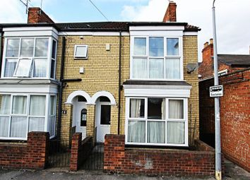 Thumbnail 2 bedroom end terrace house for sale in Grafton Street, Hull