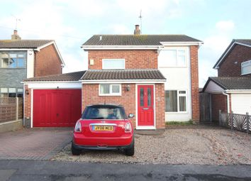 Thumbnail 3 bed detached house for sale in Linwood Close, Hinckley