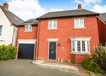 Thumbnail 4 bed detached house for sale in Brunel Way, Church Gresley, Swadlincote