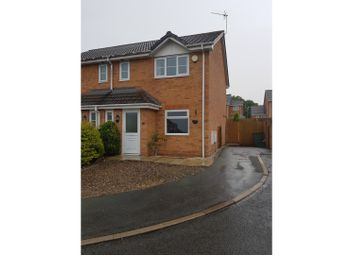 Thumbnail 2 bed semi-detached house to rent in Broughton Heights, Wrexham