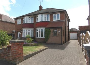 Thumbnail 3 bed semi-detached house for sale in Hawthorn Avenue, Birstall, Leicester, Leicestershire