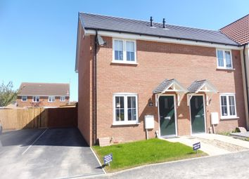 Thumbnail 2 bedroom semi-detached house for sale in St Vincent Close, Crowland, Peterborough