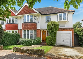 Thumbnail 4 bedroom semi-detached house for sale in Cuckoo Hill Road, Pinner, Middlesex