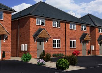 Thumbnail 2 bed semi-detached house for sale in New Gate Close, Webheath, Redditch, 5Qz
