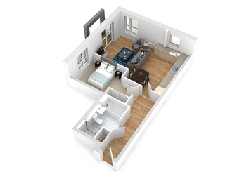 Thumbnail 1 bed flat for sale in Silverbirch Wynd, Port Glasgow