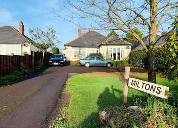 Thumbnail 3 bed detached bungalow for sale in Heatherton Park Road, West Buckland, Wellington