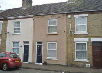 Thumbnail 3 bedroom terraced house for sale in Cavendish Street, Peterborough, Cambridgeshire.