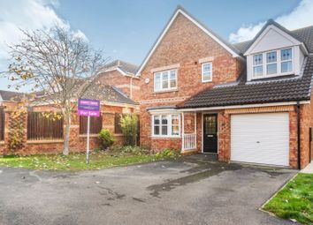 Thumbnail 4 bed detached house for sale in Bradgate Park, Hull