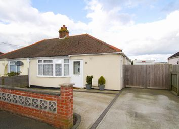 Thumbnail 3 bed semi-detached bungalow for sale in Alexandra Road, Capel-Le-Ferne, Folkestone
