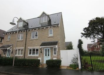 Thumbnail 4 bed town house for sale in Saxon Court, St. Georges, Weston-Super-Mare