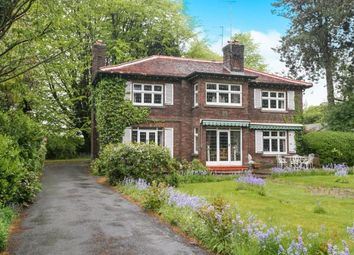 Thumbnail 4 bed detached house for sale in Dumbah Lane, Prestbury, Macclesfield, Cheshire