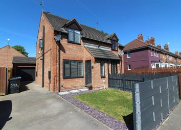 Thumbnail 2 bed semi-detached house for sale in Newbald Grove, Hull