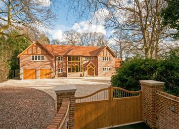 Thumbnail 6 bed detached house for sale in Straight Mile, Ampfield, Romsey