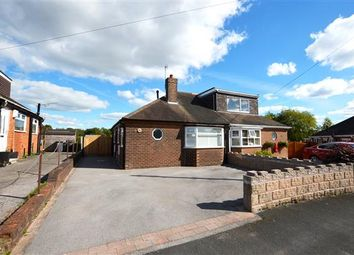 Thumbnail 2 bed semi-detached bungalow to rent in Fearns Avenue, Bradwell, Newcastle
