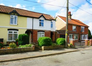 Thumbnail 3 bed end terrace house to rent in Church Road, Watton, Thetford
