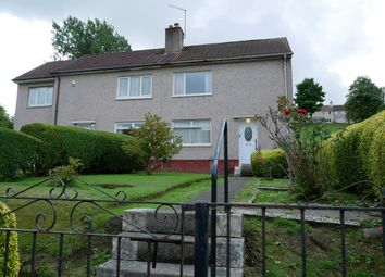 Thumbnail 2 bed semi-detached house for sale in Ladykirk Crescent, Paisley