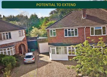 Thumbnail 3 bed semi-detached house for sale in Stockwell Road, Knighton, Leicester