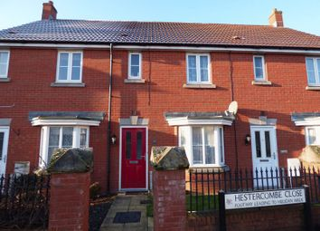 Thumbnail 2 bed terraced house for sale in Hestercombe Close, Weston-Super-Mare