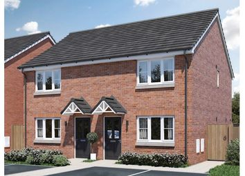 Thumbnail 2 bed semi-detached house for sale in 14, Hedgehog Close, Melton Mowbray, Leicestershire