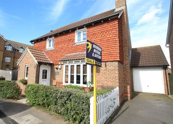 Thumbnail 4 bed detached house for sale in The Saltings, Iwade, Sittingbourne, Kent