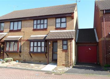 Thumbnail 3 bed semi-detached house for sale in Beauvoir Drive, Kemsley, Sittingbourne, Kent