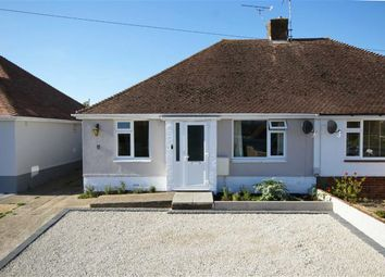 Thumbnail 2 bed semi-detached bungalow for sale in Salvington Road, Worthing, West Sussex