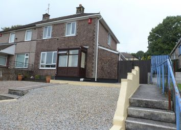 Thumbnail 2 bed semi-detached house for sale in Budshead Road, Crownhill, Plymouth