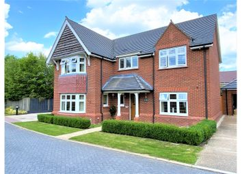 Thumbnail 4 bed detached house for sale in Waring Close, Glenfield