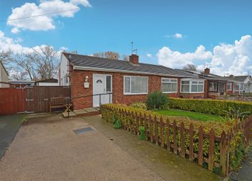 Thumbnail 2 bed semi-detached bungalow for sale in Llys Charles, Towyn, Abergele